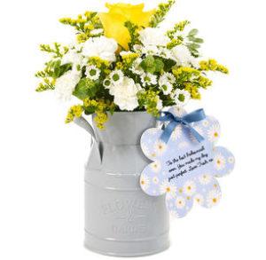 Flowercard Milk Churn