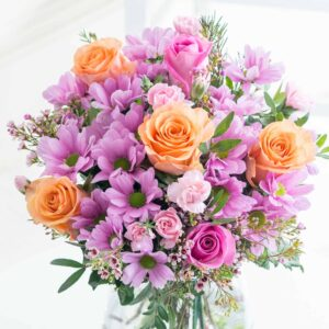 Purple Shimmer Rose and Carnation