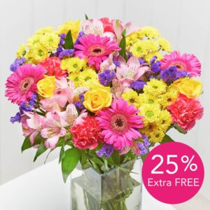 Vibrant Summer + 25% extra flowers