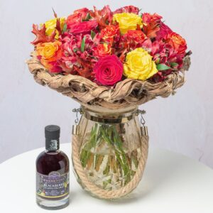 Autumn Roses Gin Gift