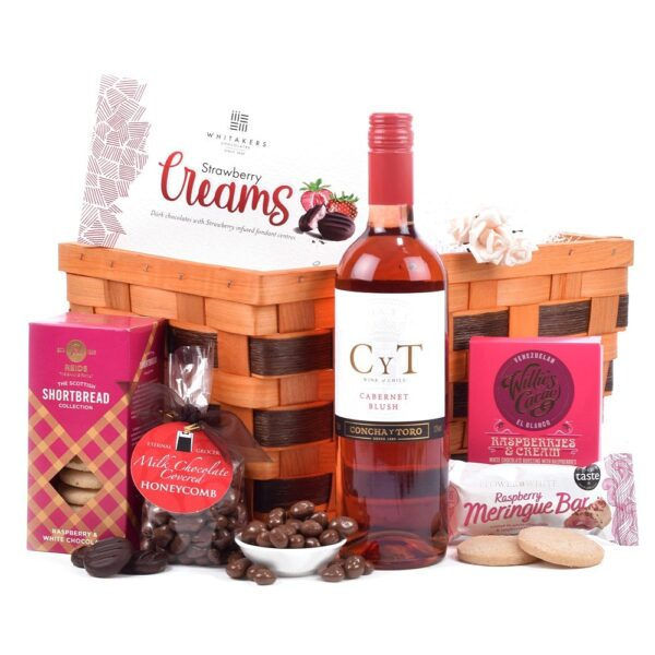 Rose Gift Basket
