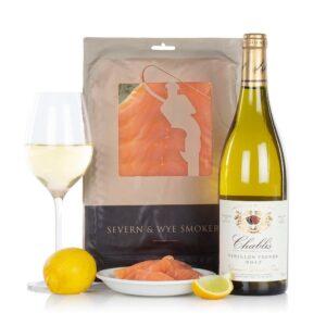 Salmon and Chablis