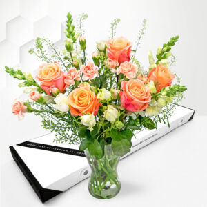 Blush Roses - Letterbox Flower Delivery - Letterbox Flowers - Letterbox Roses - Letterbox Flowers UK