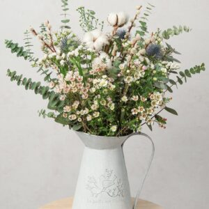 Cotton Clouds Foliage Bouquet
