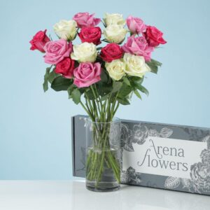 Letterbox Pastel Roses