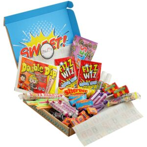 Retro Sweets Letterbox Gift