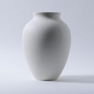 White Large Olpe Vase